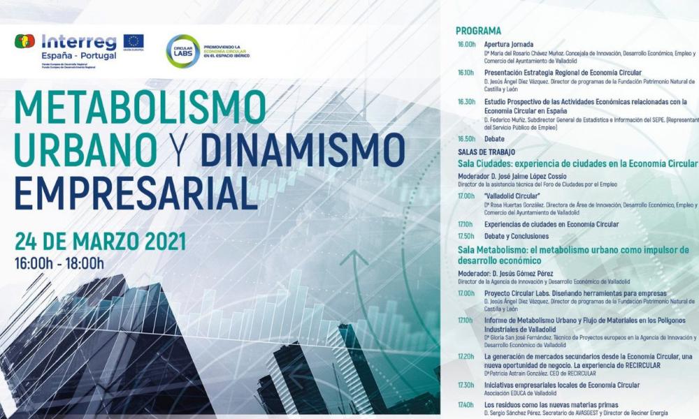 Jornada Metabolismo Urbano y Dinamismo Empresarial