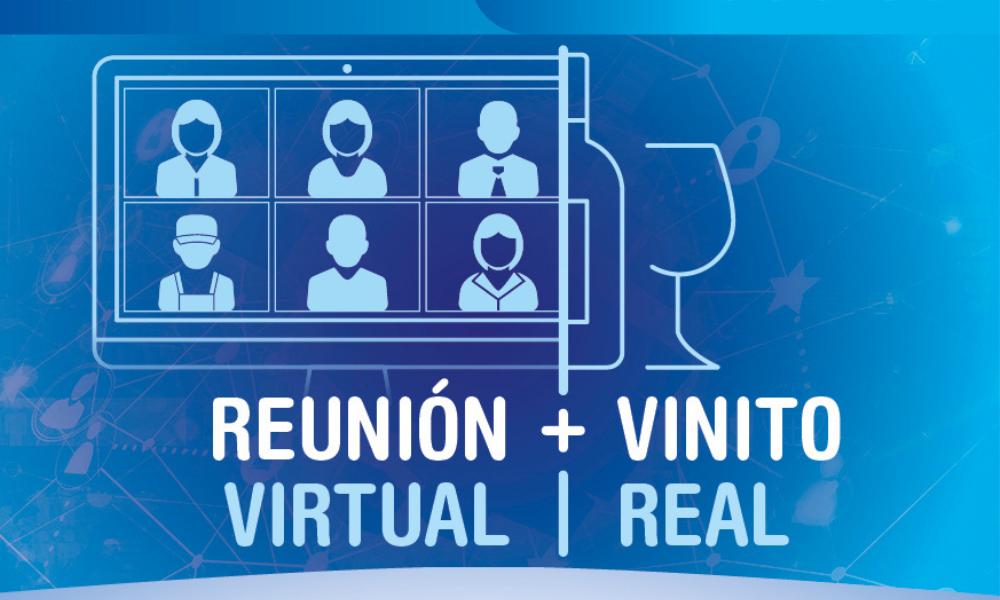 Reunión virtual + Vinito real de la Asociación de Empresas EDUCA